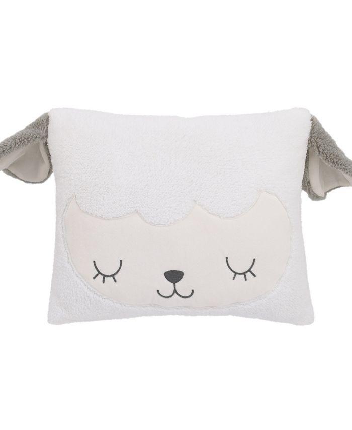 NoJo - Lamb Shaped Decorative Pillow