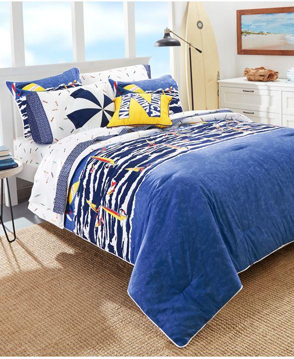 Nautica Kids Surf the Waves 3-Piece Full Comforter Set