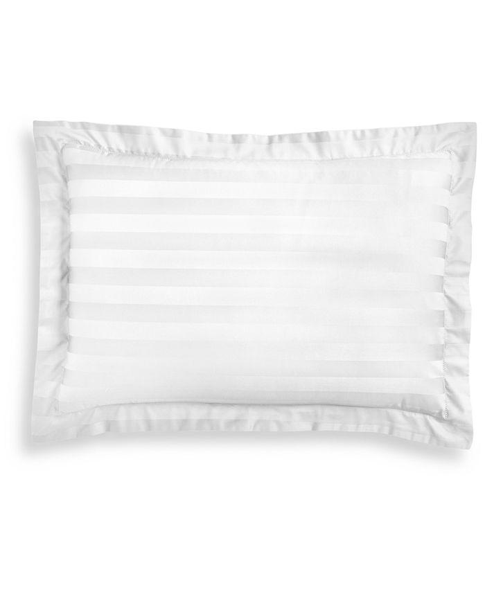 Charter Club - Damask Stripe Cotton 550-Thread Count Standard Sham