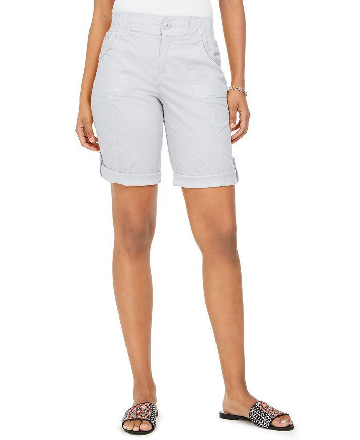 Style & Co - Roll-Tab Bermuda Shorts