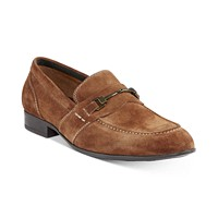 Deals on Alfani Mens Chester Suede Bit Loafers