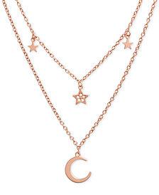"Olivia Burton Celestial Charm 16"" Two-Row Pendant Necklace"