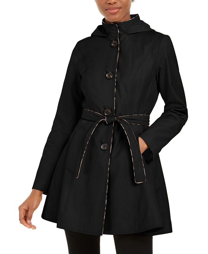 Laundry by Shelli Segal - Hooded Raincoat