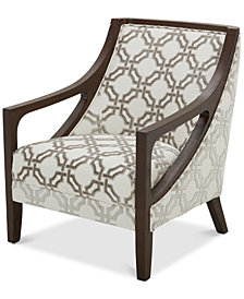 "Yazlan 28"" Fabric Accent Chair"