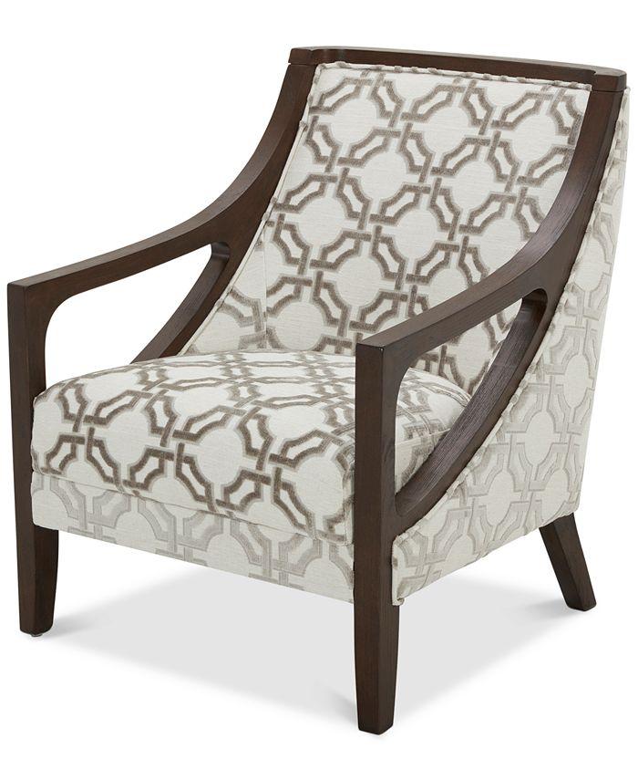 "Furniture - Yazlan 28"" Fabric Accent Chair"