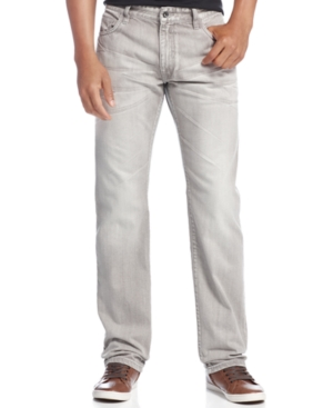Rocawear Jeans Volume Straight Fit Grey Wash Jeans