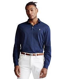 Polo Ralph Lauren Men's Classic Fit Long Sleeve Soft Cotton Polo