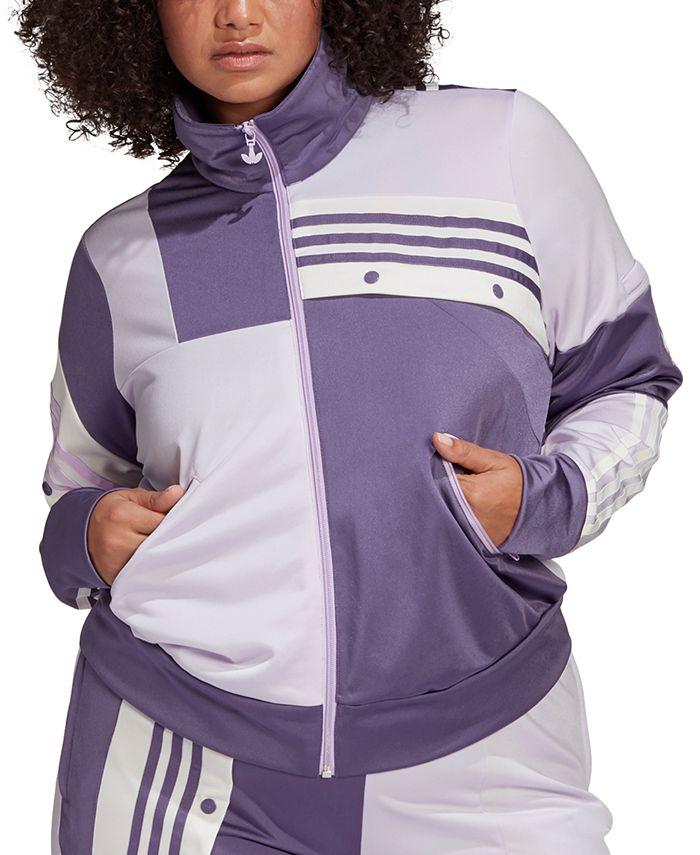 adidas - Women's Plus Size Daniëlle Cathari Adibreak Track Jacket