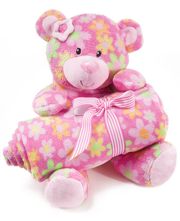 First Impressions Baby Set Baby Girls Plush Toy And