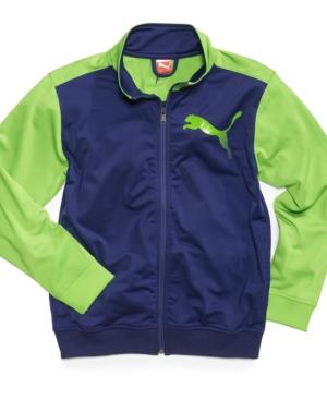 Puma Kids Jacket Boys Block Jacket