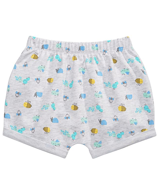 First Impressions Baby Boys Bug-Print Shorts, Created for Macy's