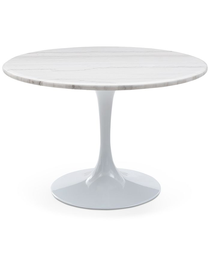 Steve Silver - Colfax White Marble Table