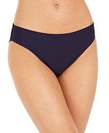 DKNY Solid Hipster Bikini Bottoms