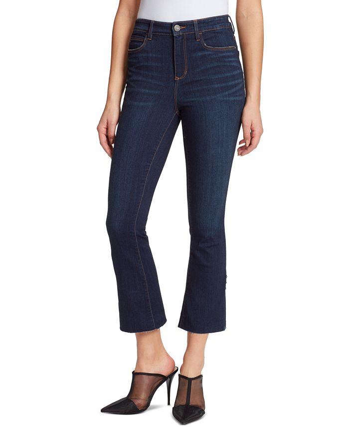 Skinnygirl - Julie Cropped Flare-Leg Jeans
