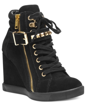 Steve Madden Womens Shoes Obsess Wedge Sneakers Womens Shoes