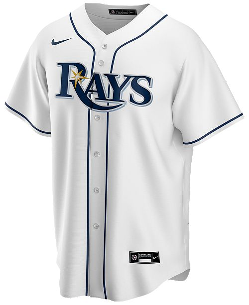 nike men s tampa bay rays official blank replica jersey reviews sports fan shop by lids men macy s men s tampa bay rays official blank replica jersey