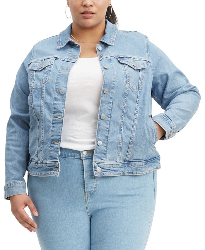 Levi's - Plus Size Trucker Denim Jacket