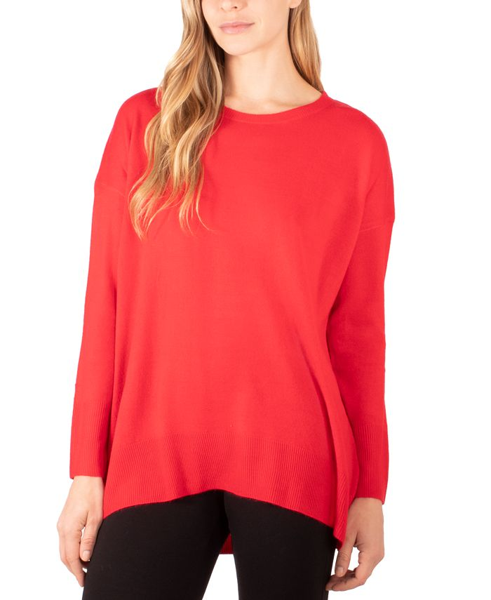 NY Collection - High-Low Sweater