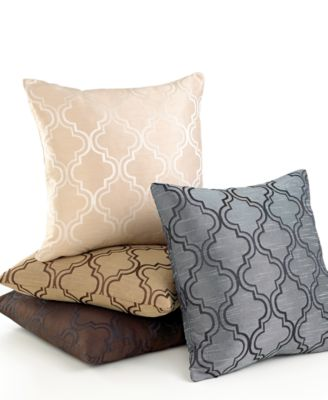 "Softline Samara 20"" Square Decorative Pillow"