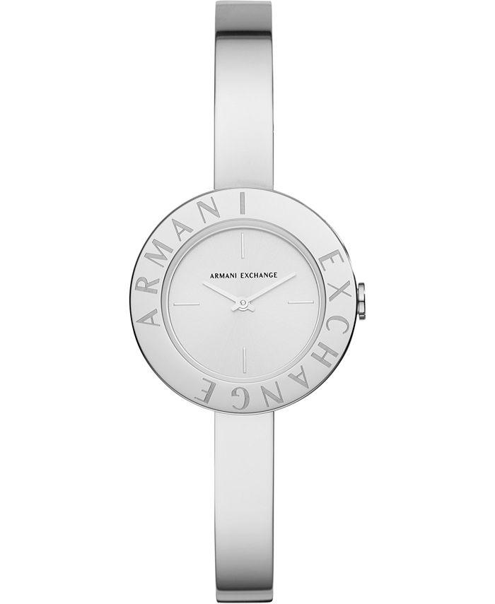 A|X Armani Exchange - Women's Giulia Stainless Steel Bangle Bracelet Watch 30mm