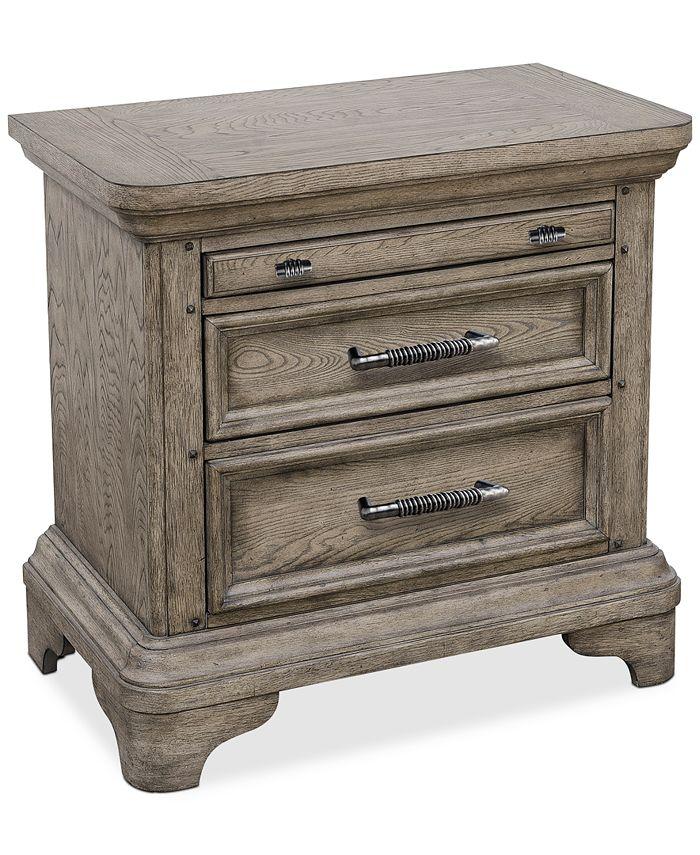 Furniture - Bristol Bedroom USB Nightstand