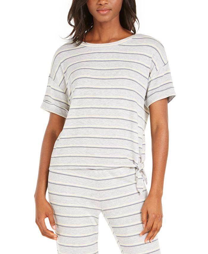 Alfani - Side-Tie Sleep T-Shirt