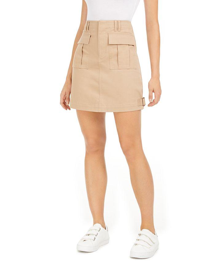 Bar III - Cargo Mini Skirt
