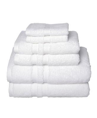 Element 6-Pc. Turkish Cotton Towel Set