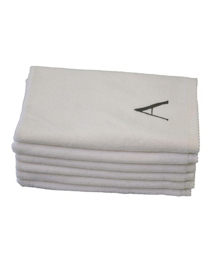 TALESMA - Talesma Monogram 6-Pc. Turkish Cotton Guest Towel Set