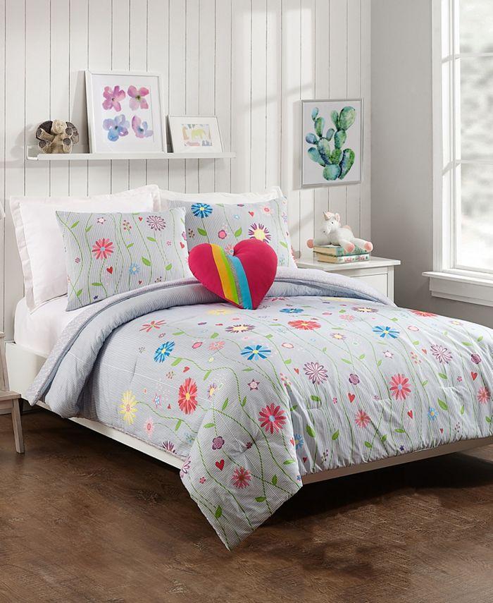 Jessica Simpson - Growing Garden 4-Piece Full/Queen Comforter Set