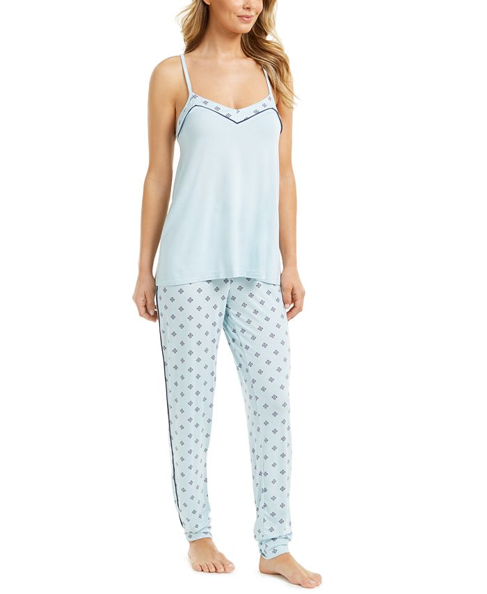 Alfani - Printed Tank Top Pajama Set