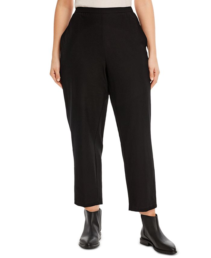 Eileen Fisher - Plus Size Pull-On Pants