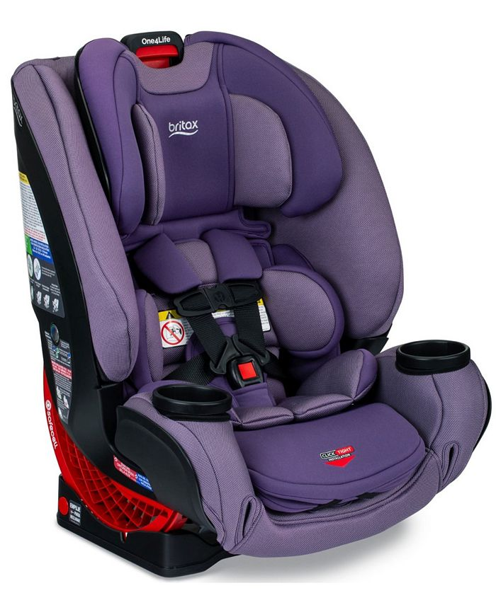 Britax - ® One4Life ClickTight All-in-One Convertible Car Seat - 5 to 120 pounds - SafeWash Fabric, Plum