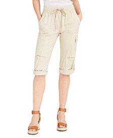 Tommy Hilfiger Cropped Drawstring Pants