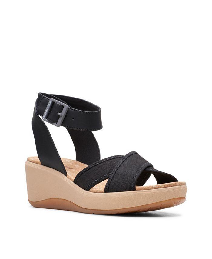Clarks - Step CaliCoast Wedge Sandals