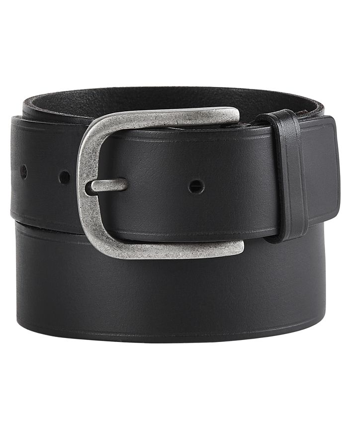 Frye and Co. - Men's Heat-Pressed Leather Belt