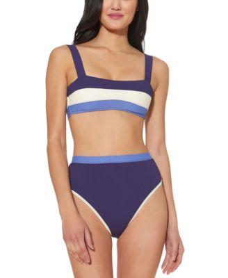 Colorblocked Bikini Top