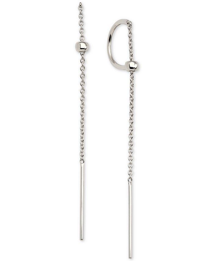 AVA NADRI - C-Hoop Threader Earrings