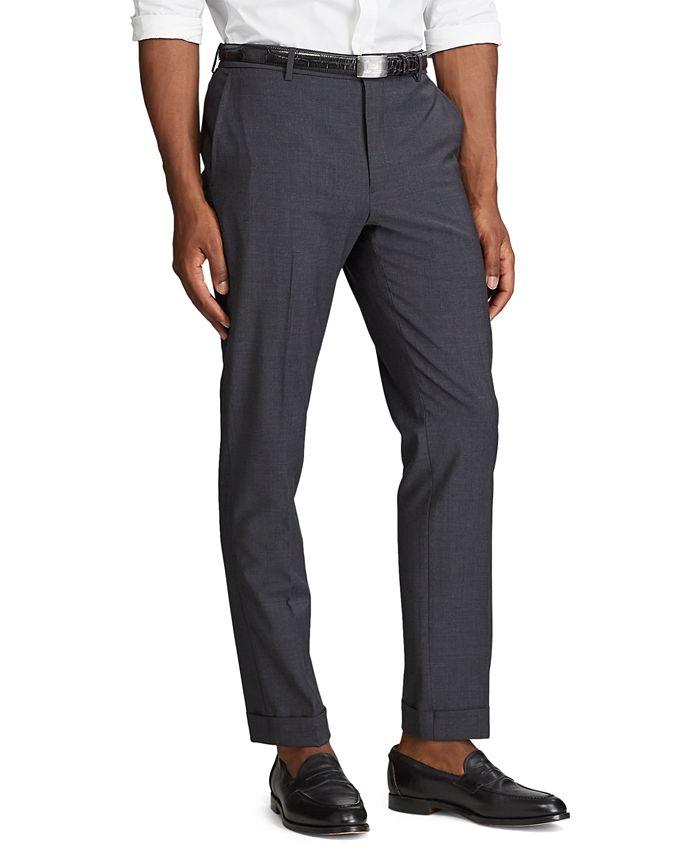 Polo Ralph Lauren - Men's Wool-Blend Trouser