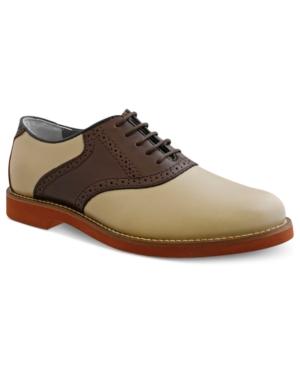 Bass Burlington Plain-Toe Saddle Shoes Mens Shoes $99.00 AT vintagedancer.com