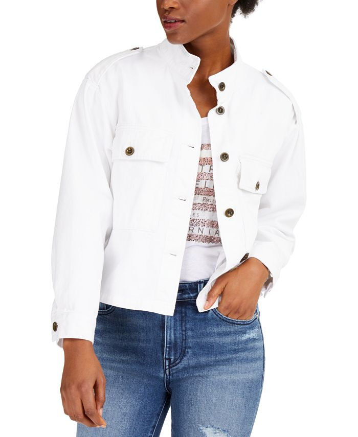 True Religion - Button-Front Military Jacket