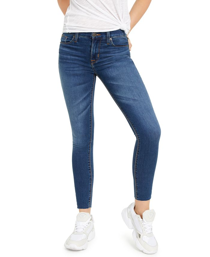 Hudson Jeans - Raw-Hem Skinny Jeans