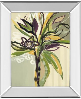 Serene Floral I by A. Maritz Mirror Framed Print Wall Art, 22