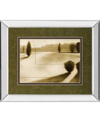Cyprus Eclipse I by Brent Collins Mirror Framed Print Wall Art, 34