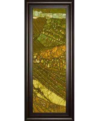 Vineyard Batik I by Andrea Davis Framed Print Wall Art - 18