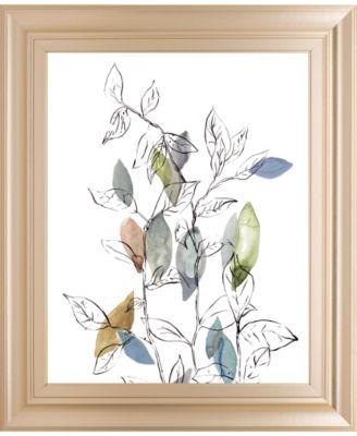 Spring Leaves II by Meyers, R. Framed Print Wall Art, 22