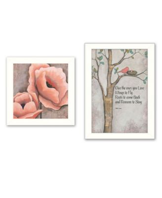 Ones You Love 2-Piece Vignette by Kenda Runnels, White Frame, 14