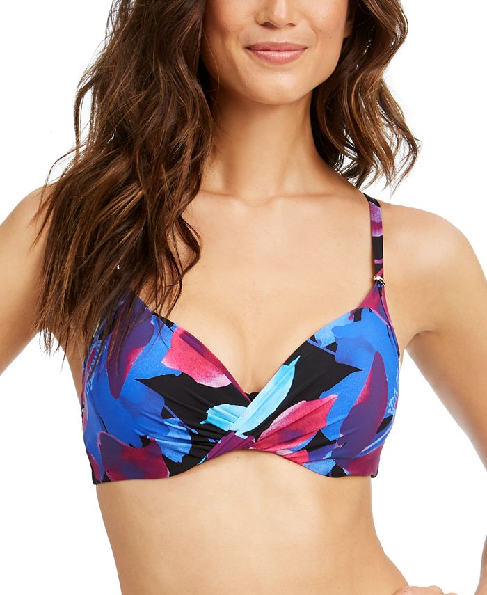 Calvin Klein - Liquid Underwire Floral Bikini Top