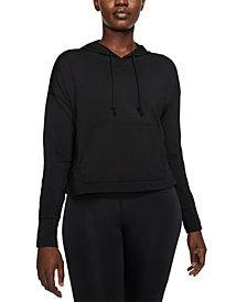 Nike Women's Yoga Dri-FIT Cropped Hoodie
