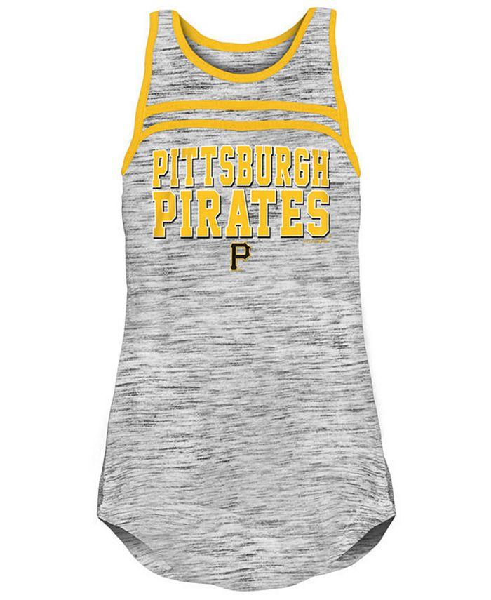 5th & Ocean - Pittsburgh Pirates Women's Space Dye Tank